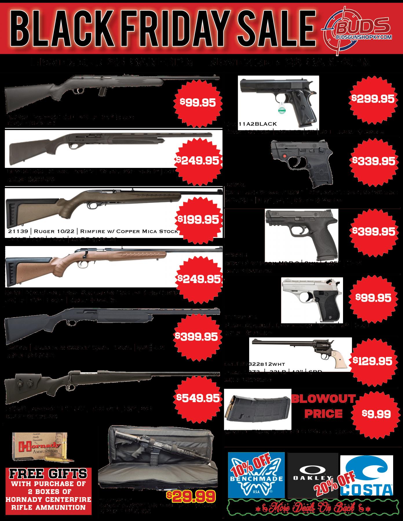 buds guns discount coupon