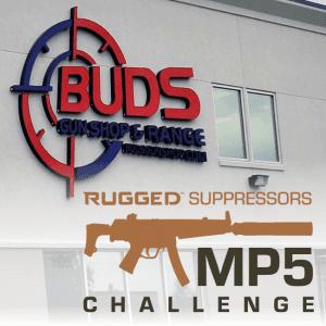Rugged Suppressors & Buds Gun Shop MP5 Challenge