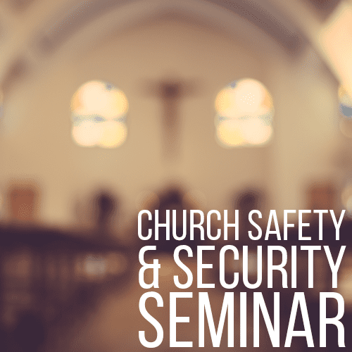 Buds Gun Shop & Range - Church Safety and Security Seminar