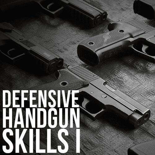 Buds Gun Shop & Range - Defensive Handgun Skills I